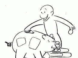 george monkey coloring pages coloring pages wallpaper