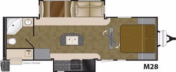 wilderness travel trailer floor plan heartland mallard m28 rvs for sale camping world rv sales