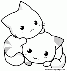 coloring page of a kitty classy idea kitty cat coloring pages kittens and puppies funny cute