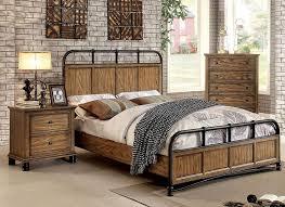 Antique Finish Bedroom Furniture Industrial Bedroom Furniture Bedroom Interior Bedroom Ideas