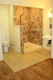 Barrier Free Bathroom Design by Bathroom Remodel Luxury Walk In Wet Room Easy Access Idolza
