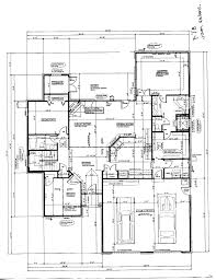 beautiful house floor plan with dimensions u shaped home plans