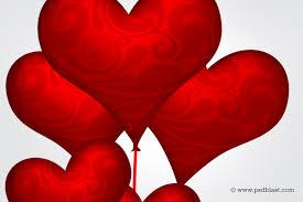 heart shaped balloons heart shape balloons design psd psdblast
