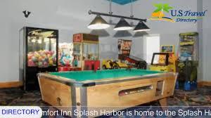 comfort inn splash harbor bellville hotels ohio youtube