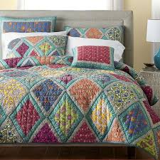 Cotton Quilted Bedspread Patchwork Quilt King Size Quilting Galleries