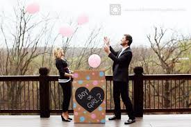 gender reveal balloons in a box chalkboard paint gender reveal box the magic brush