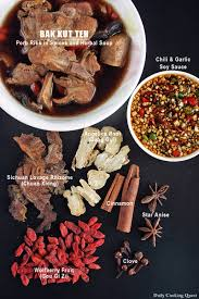 bak kut teh pork ribs in spices and herbal soup daily cooking