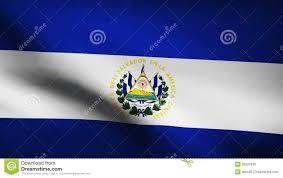 Salvadoran Flag El Salvador Country Flag Stock Footage Illustration Of Guerrilla