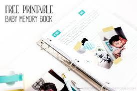 baby boy memory book free printable baby memory book printable crush