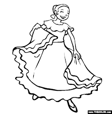 online coloring page cinco de mayo online coloring pages page 1