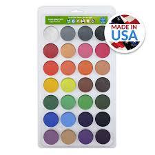 amazon com vegan face paint kit top 28 color palette face