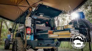overland jeep kitchen 2015 jeep wrangler rubicon unlimited rig walk around youtube