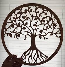 tree of life home decor tree of life wall art raw wood home decor laser cut