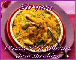 cuisine pakistanaise recette biryani inde du nord pakistan arabie saoudite oman l oasis d