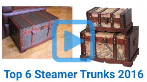 top 6 steamer trunks of 2016 video review