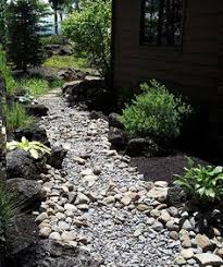 dry riverbed landscaping landscaping a dry river bed design