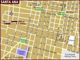 map of santa map of santa