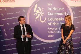 the in house community counsels of the year awards 2017 in house