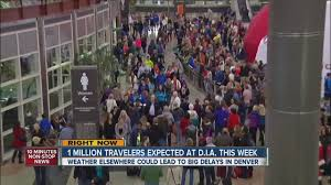 nearly 1 million passengers expected at denver international airport
