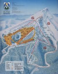 Mt Hood Trail Map Mt Hood Meadows Ski Resort Skimap Org