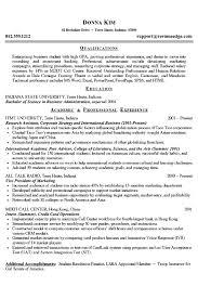 example of college resume berathen com