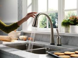 best touchless kitchen faucet hands free touchless kitchen faucet