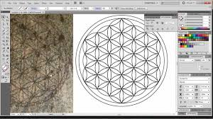 pattern drawing illustrator how to draw the flower of life digitally with adobe illustrator the