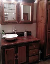 Red Bathroom Cabinets Red Cedar Vanity With Barn Wood U2014 Barn Wood Furniture Rustic
