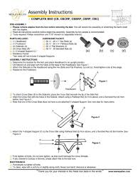 Assembling A Bed Frame How To Wesley Allen Bed Assembly