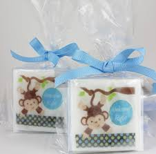 baby shower favors for boy monkey baby shower soap favors baby boy shower ideas soapaucity