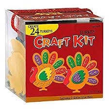 festive fall thanksgiving turkey craft kit toys
