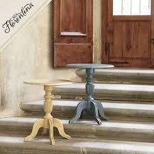 Pedestal Accent Table Diy Pedestal Side Table