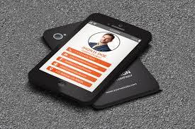 horizontal business card photos graphics fonts themes