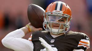 Manziel Benched Johnny Manziel Gets To Show His Stuff For Cleveland Browns La Times