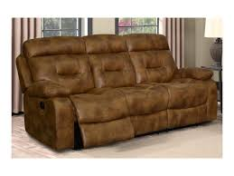 Klaussner Fabrics Klaussner International Cano Casual Leather Reclining Sofa Old