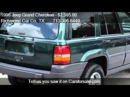 1996 jeep grand for sale 1996 jeep grand laredo 2wd for sale in richmond