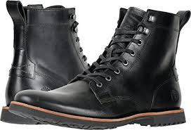 s zip boots timberland s kendrick side zip boots black leather a1n19 7 5