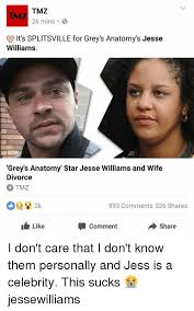 Jesse Williams Memes - tmz 26 mins it s lle for grey s anatomy s jesse williams grey s