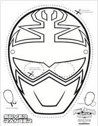 super mega power rangers printable coloring masks printables