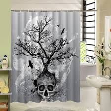 American Bath Factory Shower Compare Prices On Skull Shower Curtain Online Shopping Buy Low