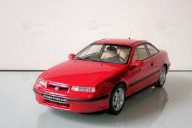 opel calibra opel calibra 4x4 turbo modelcar otto models 1 18 in red owned by