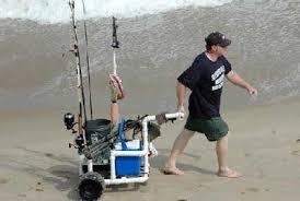 Rolling Beach Chair Cart Beach U0026 Fishing Carts Florida Go Fishing
