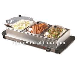 3 pan stainless steel food warmer u0026 buffet server on sale buy