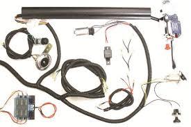 golf cart universal turn signal switch wire harness kit club car