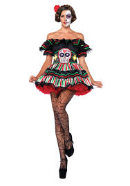 mayan halloween costume sugar skull u0026 day of the dead costumes halloweencostumes com