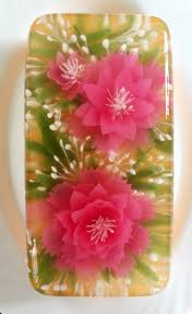 3d jelly flowers cake jelly flower cakes that i love