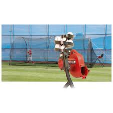 heater sports 24 ft pro pitching machine u0026 xtender batting cage