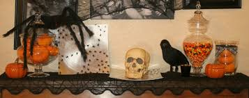 diy spooky spider halloween display trays