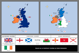 Map Of Ireland And England British Isles