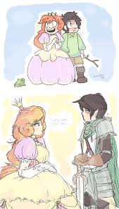 curious princess and her green knight by milieus on deviantart